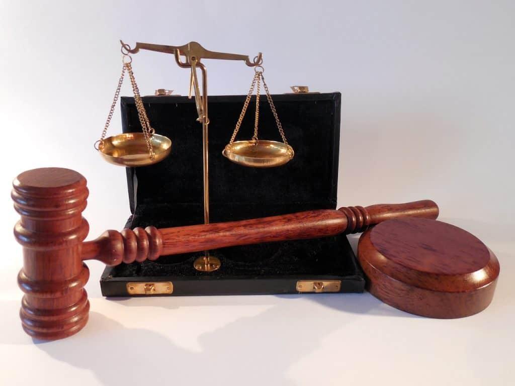 ציוד של בית משפט