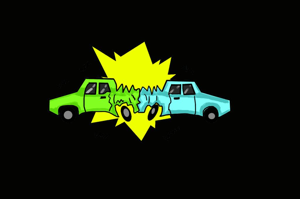 התנגשות של שני מכוניות